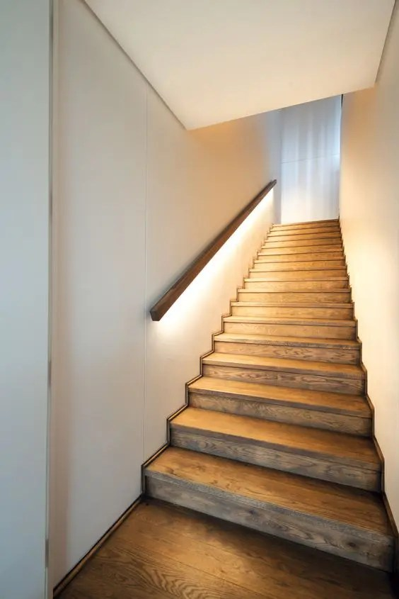 Treppenstufenbeleuchtung Led 30 Stylish Staircase Handrail Ideas To Get Inspired - Digsdigs