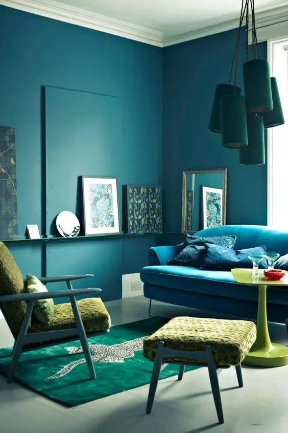 Chambre Bleu Canard Pinterest 34 Analogous Color Scheme Décor Ideas To Get Inspired