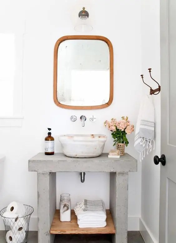 Meuble Wc Casa 45 Trendy And Chic Industrial Bathroom Vanity Ideas - Digsdigs