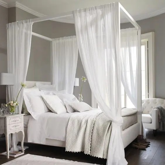 Himmelbett Vintage 33 Canopy Beds And Canopy Ideas For Your Bedroom - Digsdigs