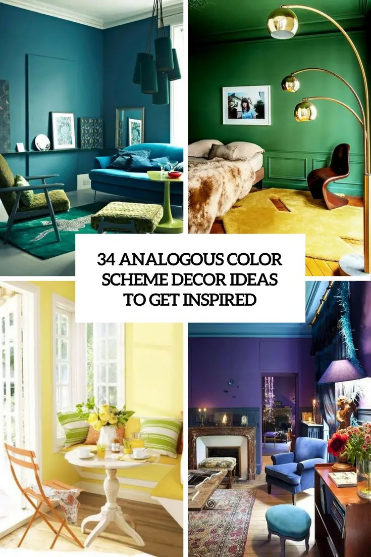 Color Schemes For Rooms 34 Analogous Color Scheme Décor Ideas To Get Inspired Digsdigs