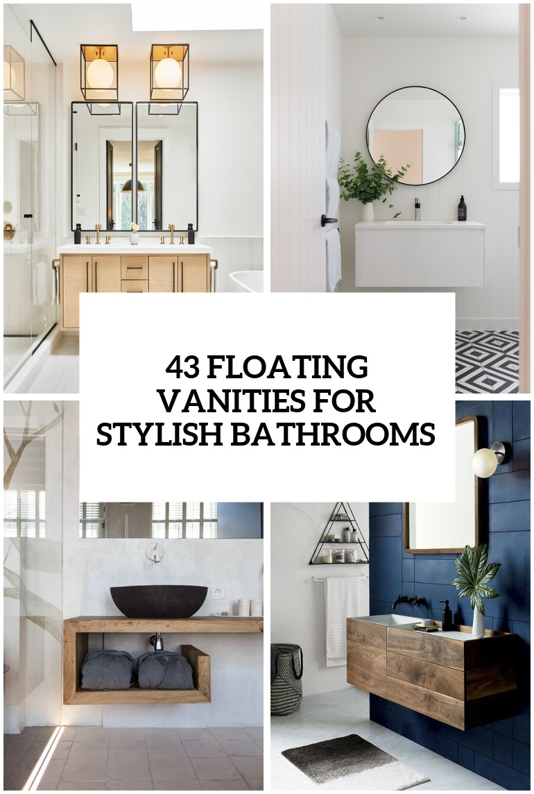 43 Floating Vanities For Stylish Modern Bathrooms Digsdigs