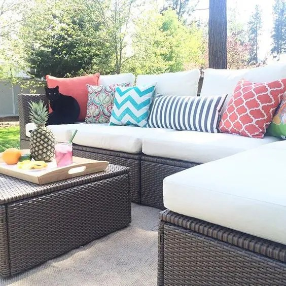 Rattan Sofa Ikea 30 Outdoor Ikea Furniture Ideas That Inspire - Digsdigs