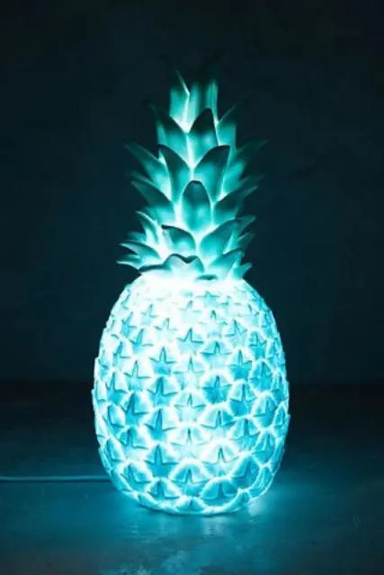 Living Room Decor Pillows 35 Pineapple Home Décor Ideas To Add A Tropical Cheer