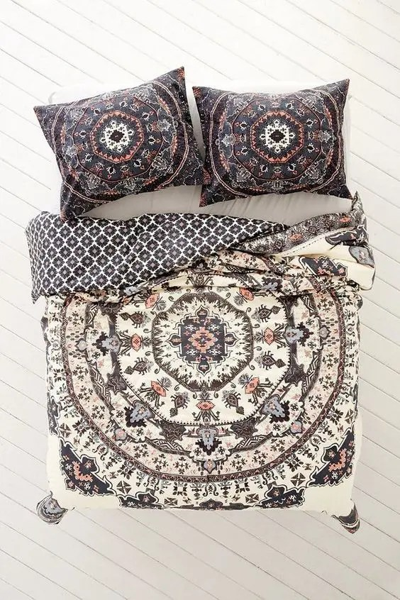 Bettwäsche Mandala 33 Boho Chic And Gypsy Inspired Bedding Ideas - Digsdigs
