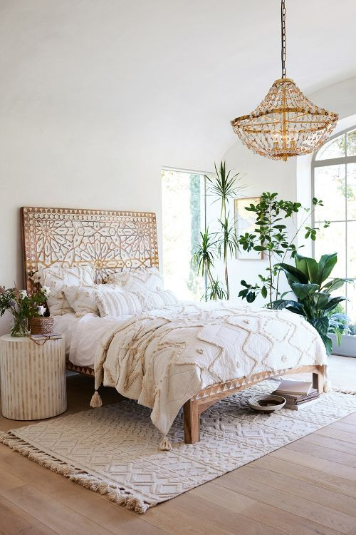 Wit Tapijt Ikea 33 Boho Chic And Gypsy Inspired Bedding Ideas - Digsdigs