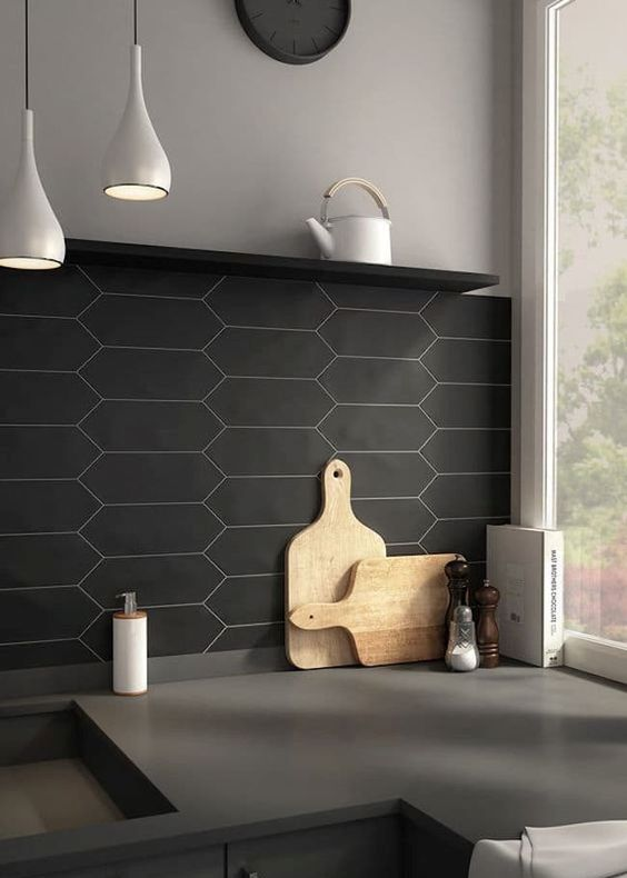 Subway Tile With Dark Grout 30 Matte Tile Ideas For Kitchens And Bathrooms - Digsdigs