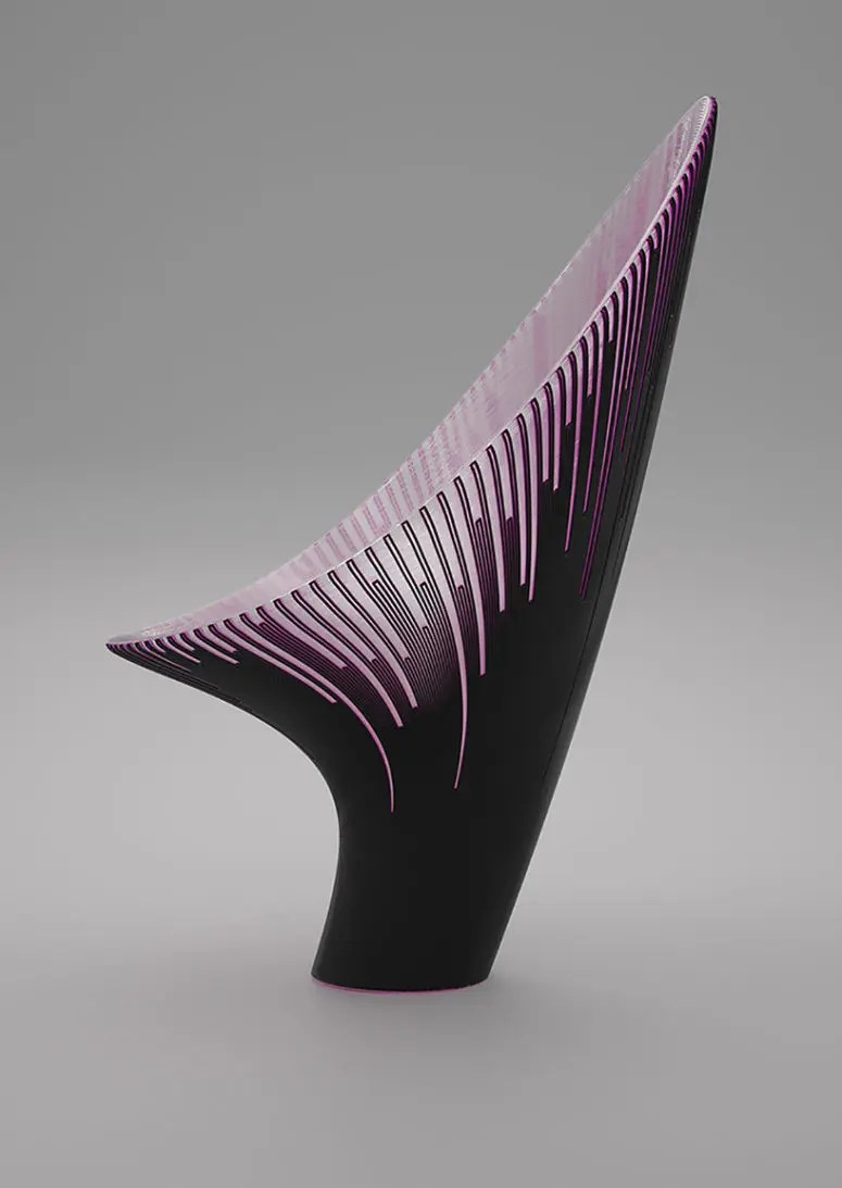 Futuristik Design 3d Printed Chairs With A Futuristic Design Digsdigs