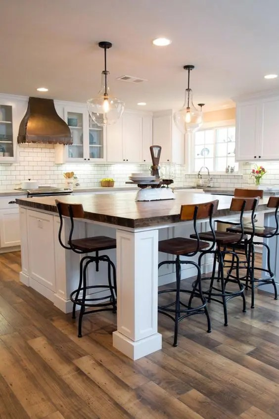 Built In Kitchen Islands With Seating 30 Kitchen Islands With Seating And Dining Areas - Digsdigs