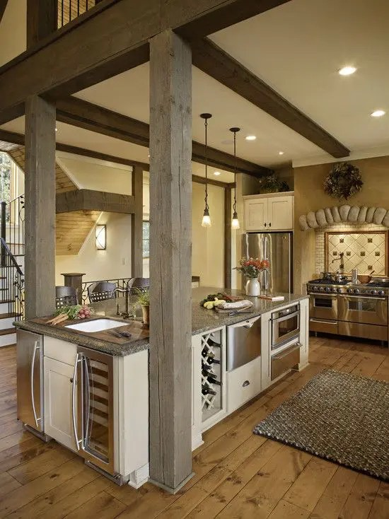 Small Kitchen Islands With Seating 31 Smart Kitchen Islands With Built-in Appliances - Digsdigs