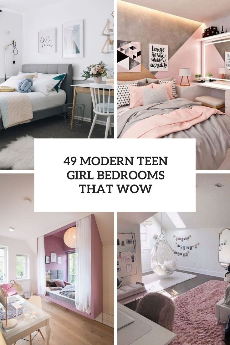 Modern Girls Bedrooms 30 Modern Teen Girl Bedrooms That Wow Digsdigs