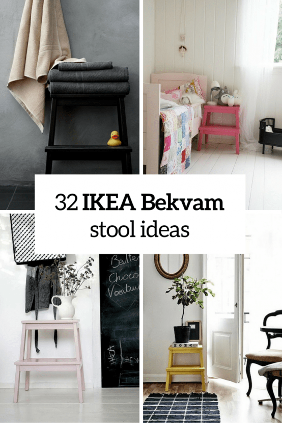 How To Rock Ikea Bekvam Stool In Your Interiors 32 Ideas - Ikea Bekvam