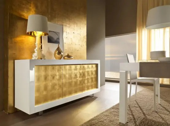 Sideboard Lila Contemporary White Sideboards With Luxury Finishes By