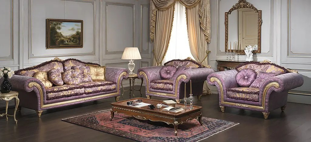 Modern Sofa With Removable Covers Luxury Classic Sofa And Armchairs – Imperial By Vimercati
