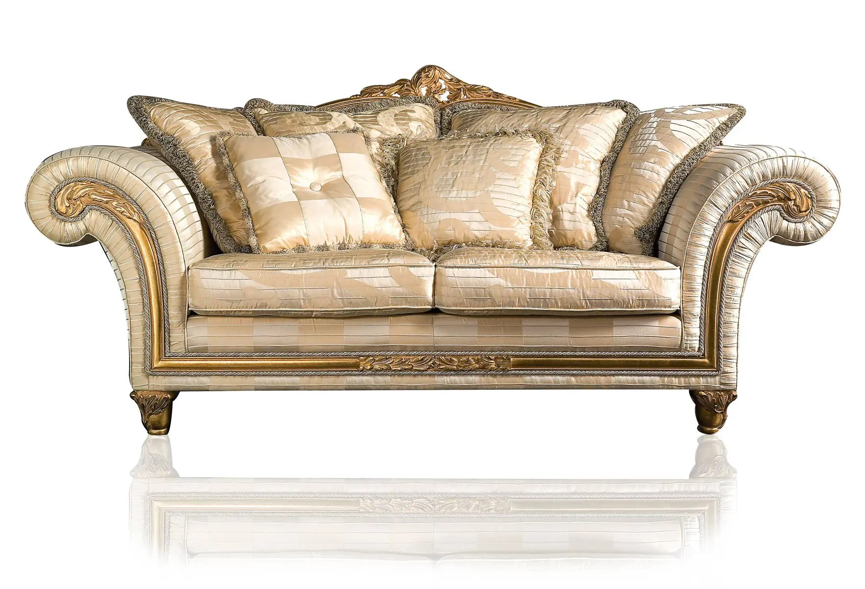 Couch Furniture Luxury Classic Sofa And Armchairs Imperial By Vimercati