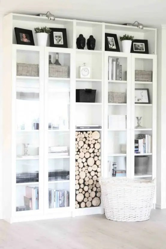Ikea Lack Kast 37 Awesome Ikea Billy Bookcases Ideas For Your Home - Digsdigs