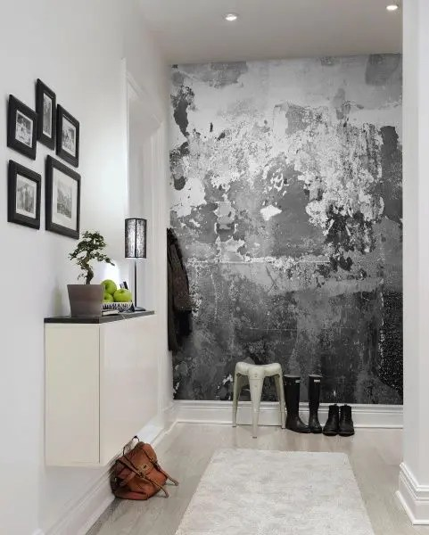 Tapete Modern 40 Awesome Wall Murals Ideas For Various Spaces - Digsdigs