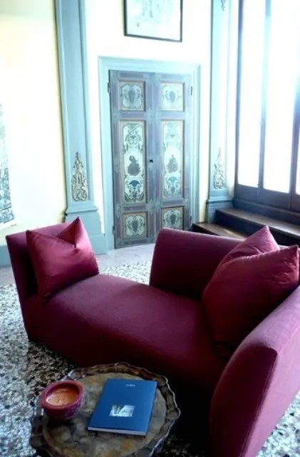 Cool Sofa Pillows 41 Beautiful Burgundy Accents For Fall Home Décor - Digsdigs
