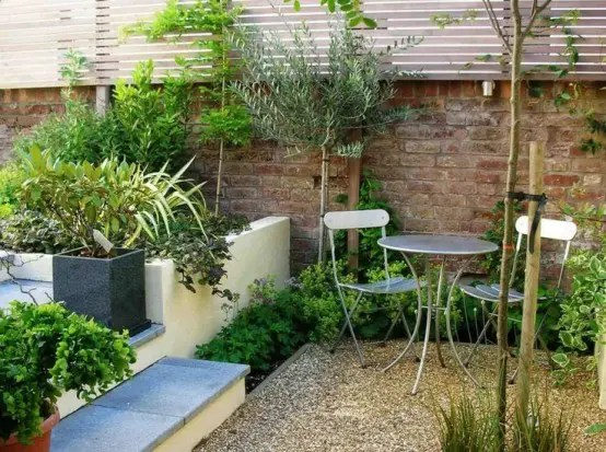 Arboles Artificiales Para Decoracion De Interiores 26 Beautiful Townhouse Courtyard Garden Designs - Digsdigs