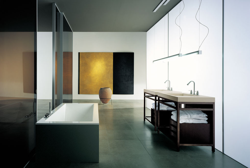 Cool Modern Furniture Very Big Bathroom Inspirations From Boffi - Digsdigs