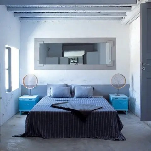 Blue And Turquoise Accents In Bedroom Designs 39 Stylish - Couleur Peinture Chambre Parentale