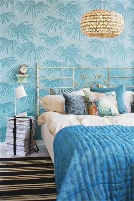 Ikea Furniture 39 Bright Tropical Bedroom Designs - Digsdigs