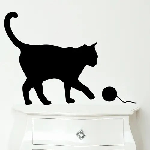 Ikea Wall Decals Funny Wall Stickers For Cat And Bird Lovers - Digsdigs