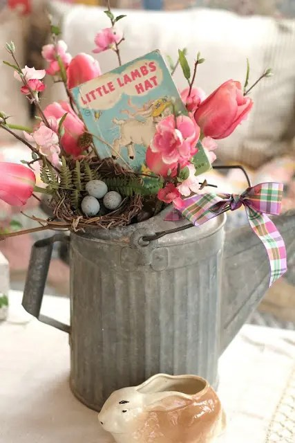 Table Ikea 27 Charming Vintage Easter Décor Ideas - Digsdigs