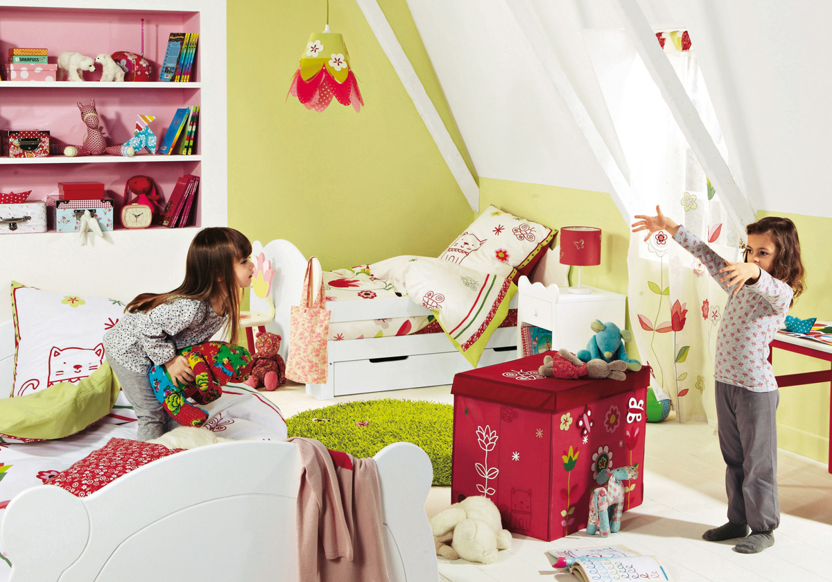 Ideas For Childrens Rooms Source Vertbaudet