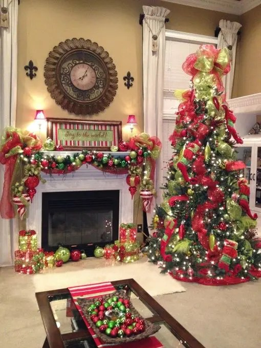 Dekoration Rot 35 Christmas Décor Ideas In Traditional Red And Green