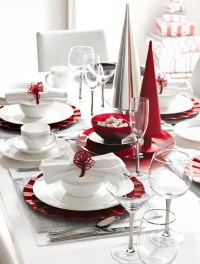 35 Christmas Table Settings You Gonna Love | DigsDigs