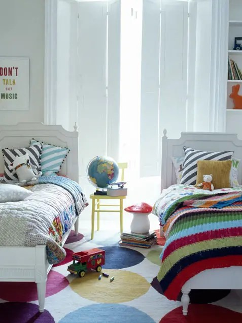 Rainbow Design Bedroom 50 Bright And Colorful Room Design Ideas Digsdigs