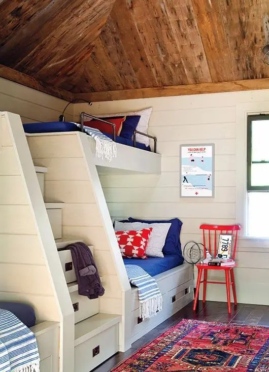 Kids Bedroom Ideas 26 Cool And Functional Built-in Bunk Beds For Kids - Digsdigs