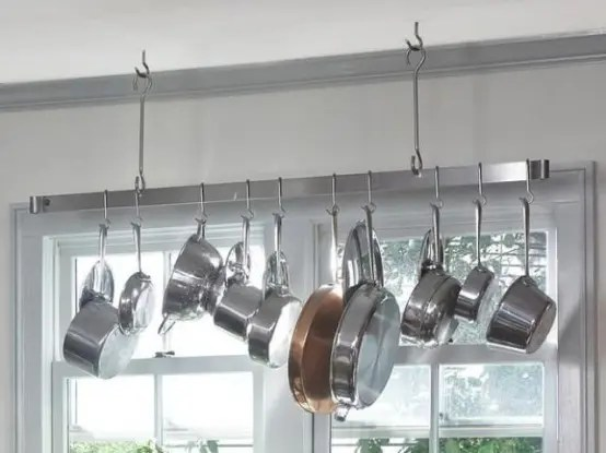 cool kitchen pots lids storage ideas digsdigs dishes organizer store lids large