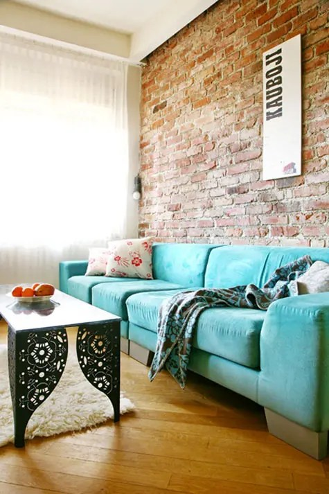 The Brick Living Room Table 77 Cool Living Rooms With Brick Walls - Digsdigs