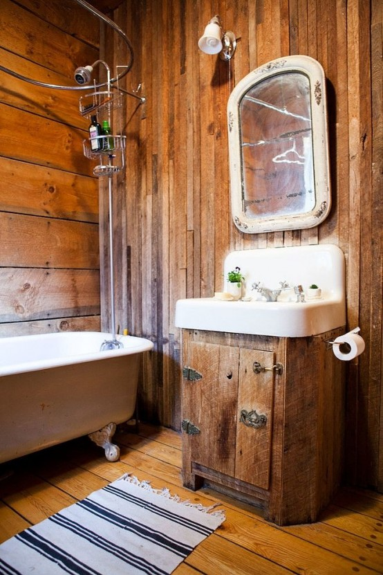 Ikea Badezimmer Design 39 Cool Rustic Bathroom Designs - Digsdigs