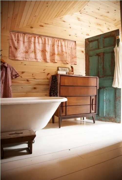 Rustic Cabinets 39 Cool Rustic Bathroom Designs - Digsdigs