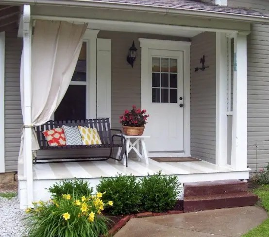 Front Porch Ideas 39 Cool Small Front Porch Design Ideas - Digsdigs