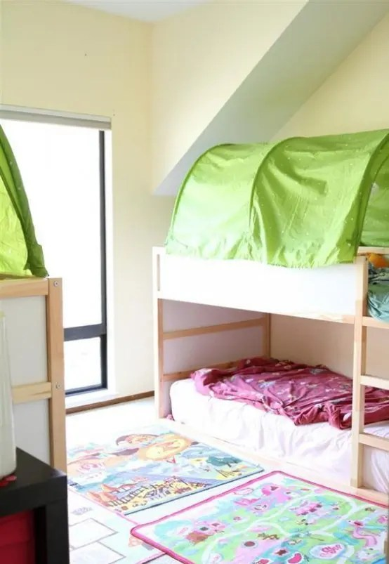 Ikea White Loft Bed 45 Cool Ikea Kura Beds Ideas For Your Kids' Rooms - Digsdigs