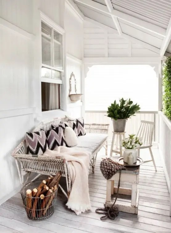 Terrasse 24 Cozy And Beautiful Winter Terrace Décor Ideas - Digsdigs
