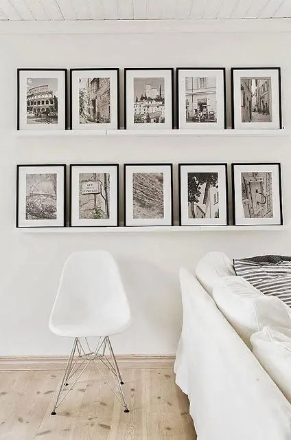 Fotowand Home 50 Creative Ways To Display Your Photos On The Walls
