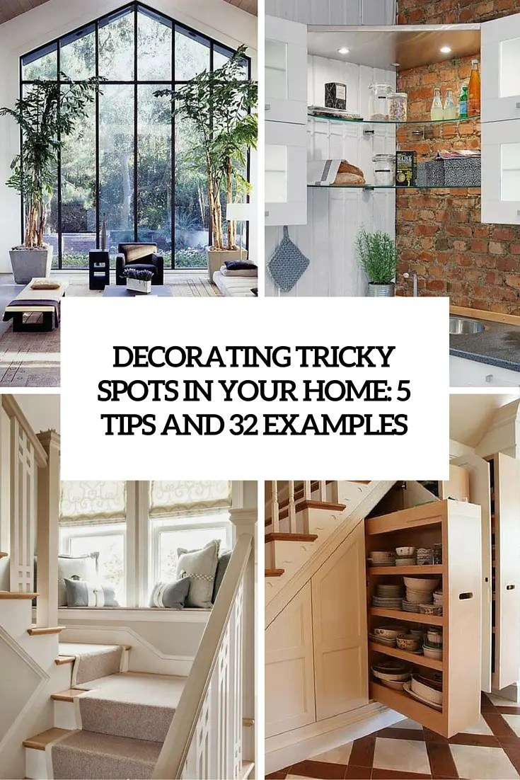 Home Deocrating Ideas Unique Home Decor Ideas For All These Tricky Spots: 5 Tips