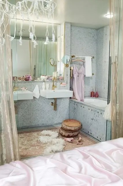 Bathroom Decor Pinterest 70 Delicate Feminine Bathroom Design Ideas - Digsdigs