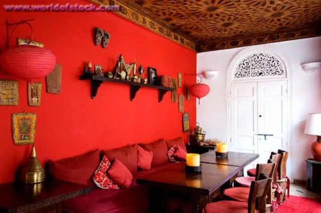 Living Room Interior Design Boho Chic 33 Exquisite Moroccan Dining Room Designs | Digsdigs