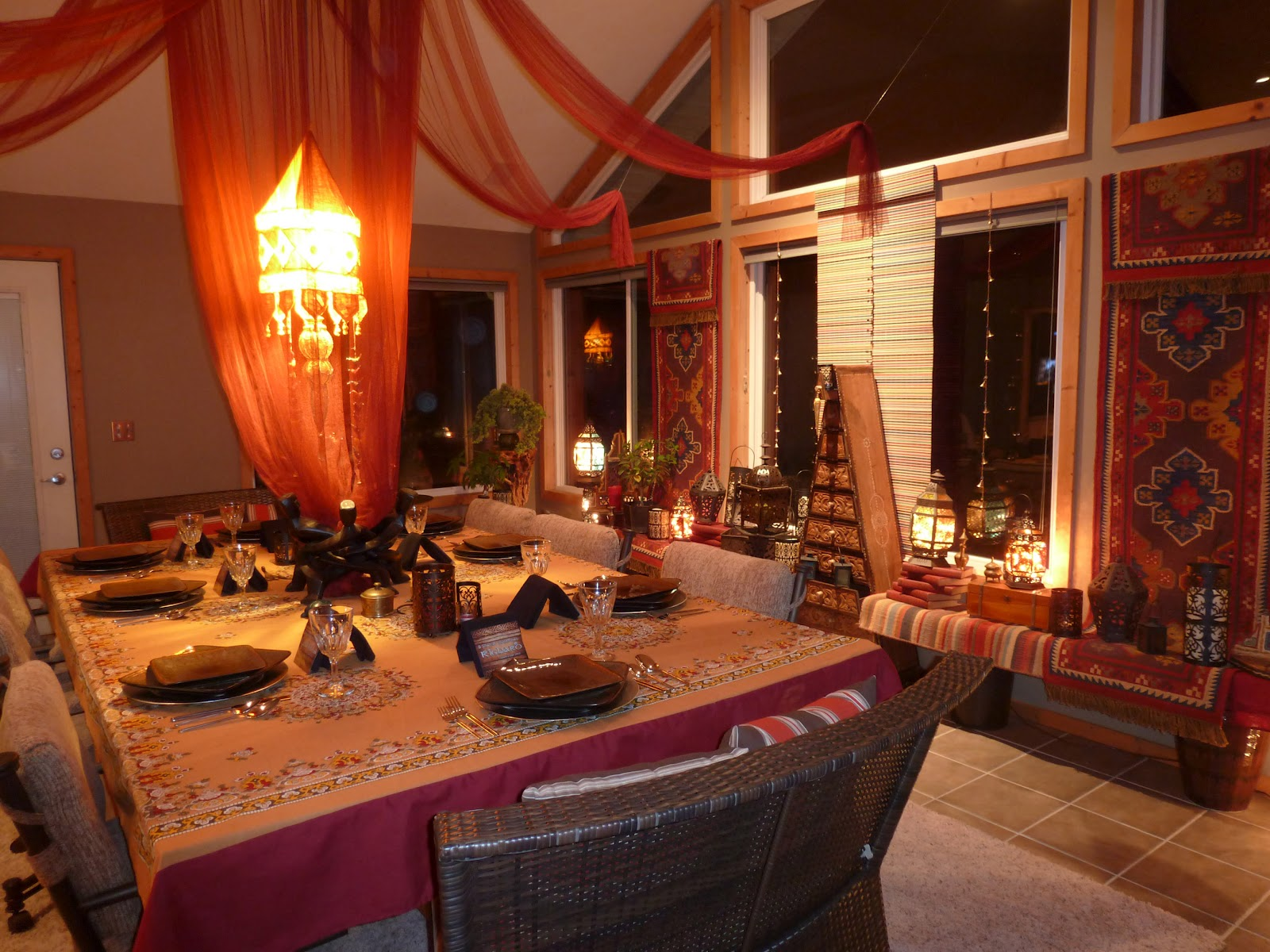 Moroccan Design Ideas 33 Exquisite Moroccan Dining Room Designs Digsdigs