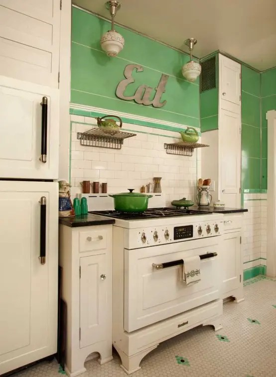 Faux Kitchen Cabinet Doors 32 Fabulous Vintage Kitchen Designs To Die For - Digsdigs