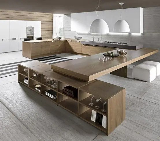 Les Plus Belles Cuisines 37 Functional Minimalist Kitchen Design Ideas - Digsdigs