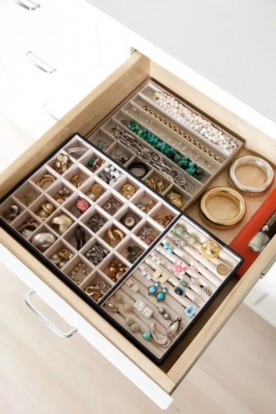 6 Drawer Chest Of Drawers How To Organize Your Jewelry In A Comfy Way: 40 Ideas