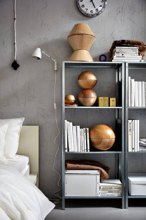Ikea Ribba Shelf How To Rock Ikea Hyllis Shelves In Your Interior: 31 Ideas