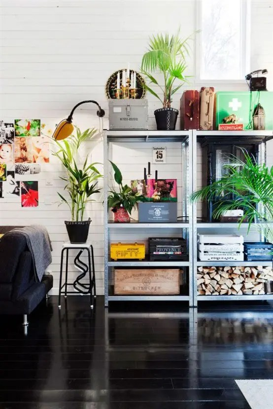 Ikea Norden How To Rock Ikea Hyllis Shelves In Your Interior: 31 Ideas